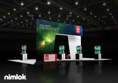Nimlok designs and builds imaginative custom and custom modular exhibits and trade show displays. We showcased Adobe's brand with a large scale booth solution.