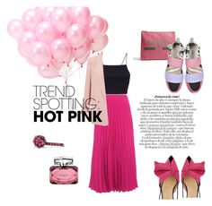 Designer Clothes, Shoes & Bags for Women Emilio Pucci, David Yurman, Miss Selfridge, Hot, Pink, Gucci, Night, Polyvore, Collection