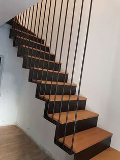 Home Stairs Design, House Design, Garde Corps Metal, House Stairs, Permaculture, Interior, Inspiration, Piano, Home Decor