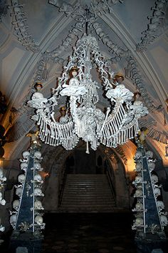 national geographic scariest places | National Geographic: Europes Church of Human Bones
