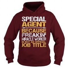 Awesome Tee For Special Agent T Shirts, Hoodie