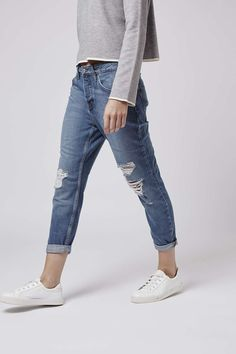 Photo 2 of PETITE Ripped Hayden Jeans
