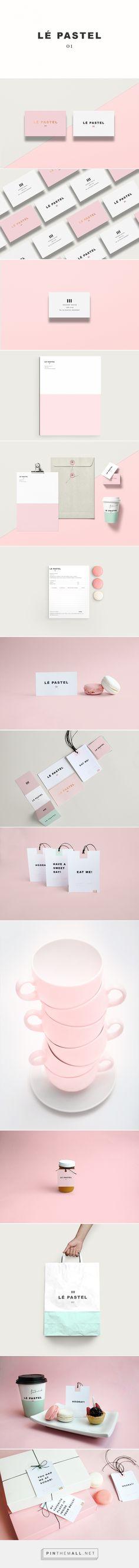 Lé Pastel branding