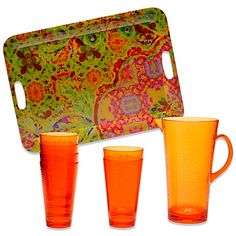 Tracy Porter® Poetic Wanderlust® Gypsy Sweet 8-Piece Beverage Set - BedBathandBeyond.com