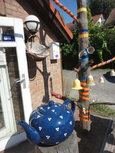 Local pottery in Buckow Wind Chimes, Germany, Pottery, Outdoor Decor, Home Decor, Ceramica, Decoration Home, Room Decor, Pottery Marks