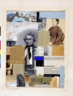 Kurt Schwitters: Man soll nicht asen mit Phrasen, 1930 - collage/Merz-Bild (Kunstmuseum St.Gallen)