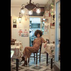Pure silk Pure passion Pure Naples New campaign in @greymagazine  Ph @peppe_tortora  Mua @annafiore_makeupartist