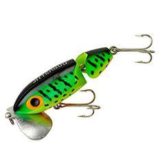 1 2 Pack Tackle Indutries Lil-D Bass Articulé//Jig en Vert Citrouille Pour Le Doré
