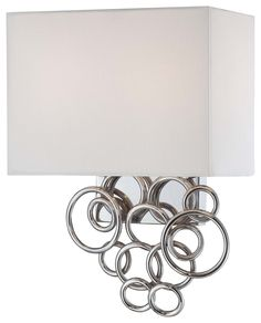 Two Light Wall Lamp