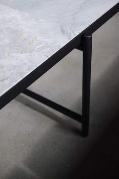 From the massive Dining Table 230 to the critically acclaimed Desk in black marble, all HANDVÄRK tables are meticulously designed in Denmark and characterized by aesthetic sustainability: a timeless object in a quality that lasts a lifetime. Tile Top Tables, Design Scandinavian, A Table, Dining Table, Low Coffee Table, Steel Detail, Nordic Living, Italian Marble, Hotel Decor