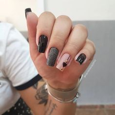 2019 Beautiful Nail Designs for Fall - Uñas esmalte permanente - Unhas Stylish Nails, Trendy Nails, Cute Nails, Perfect Nails, Gorgeous Nails, Pink Nails, Gel Nails, Nail Designer, Manicure E Pedicure