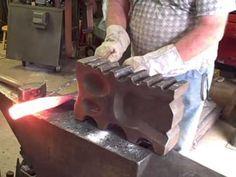 Learning Blacksmithing with Homemade Tools - YouTube