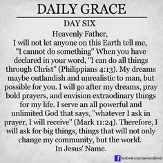 daily Grace