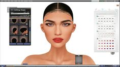 Second Life: Genesis Eva Bento Walkthrough (HUD and sliders)