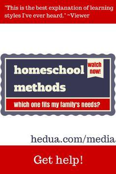 Watch/listen to this helpful #homeschool workshop now! via hedua.com/media