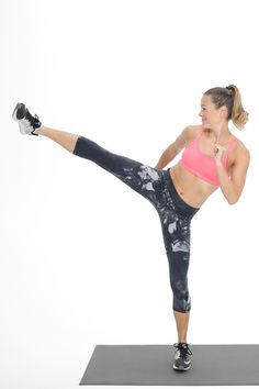 This killer cardio leg workout is the exercise your glutes and thighs have been waiting for. Incinerate calories and fat with this quick move that'll get your heart rate up, and your weight-loss goals met.