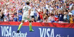 Abby Wambach❤️ she made the winning goal that got USWNT to win their group in the FIFA Women's World Cup