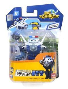 Mini BJ Bong - Super Wings Transforming Plane Toy Korea TV Animation Character #DAVIDTOY