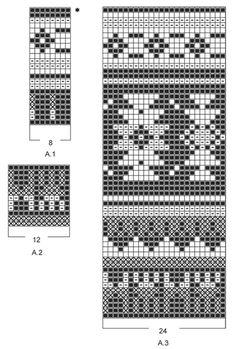 """Southwest Bag - Das Set umfasst: Gestrickte DROPS Mütze und Tasche in """"Nepal"""" mit Norwegermuster. - Free pattern by DROPS Design"""