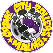 CRIME CITY ROLLERS Roller Derby Logo