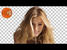 How to cut out hair from a background - Photoshop CC Tutorial - YouTube