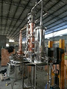 Copper vodka stills/Copper vodka distiller/Copper distillation equipments for Vodka/Gin/Whisky/Rum etc $500~$50000