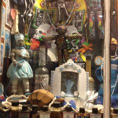 Hoodoo Magick Rootwork:  A Voodoo store in New Orleans, Louisiana, USA.
