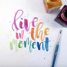Loving the talent from Melissa // Time for a calligraphy course dor // Do you ? by suebzimmerman Brush Lettering Quotes, Watercolor Lettering, Hand Lettering Quotes, Calligraphy Quotes, Calligraphy Letters, Typography Quotes, Lettering Design, Fonts Quotes, Creative Lettering