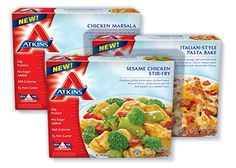site oficial dos produtos Low Carb Frozen Dinners, Lunches, Breakfasts & Low Carb Meals | Atkins
