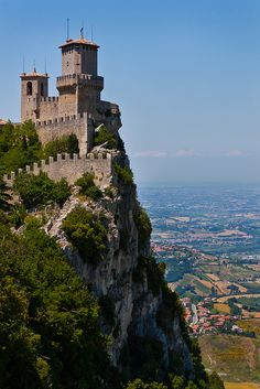 Fortress of Guaita - San Marino republic, Italy