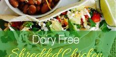 Shredded Chicken Tacos Crockpot Recipe (Dairy Free & Ketogenic)