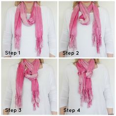 How to Tie a Women's Neck Scarf