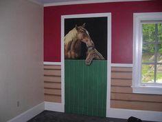 Children's horse room from Pat Ganino