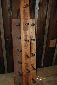 Rustic Railway Spike Coat Hangers