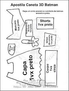 Fernanda Art's E v a: Molde ponteira do batman Map, Penne, Google, Ideas, Diy And Crafts, Yellow Belt, Color Crafts, Patron De Couture, Virgen De Guadalupe