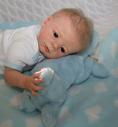 Angels of Delight Nursery- Reborn Baby Boy - Karlotta Sculpt by Karola Wegerich