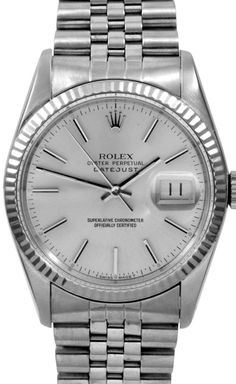 If I was interested in buying a Rolex...Stainless, hold the diamonds, please