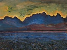 View Dusk - Tantalus Range by Frederick Horsman Varley on artnet. Browse upcoming and past auction lots by Frederick Horsman Varley. Group Of Seven Artists, Group Of Seven Paintings, Canadian Painters, Canadian Artists, Tom Thomson Paintings, Mountain Landscape, Art Auction, Online Art, Landscape Paintings