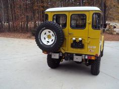 Land Cruiser Of The Day! – Enter the world of Toyota Land Cruisers New Toyota Land Cruiser, Toys Land, Toyota Fj40, Restoration, Monster Trucks, Range Rovers, Cars, Vintage, Jeep Truck