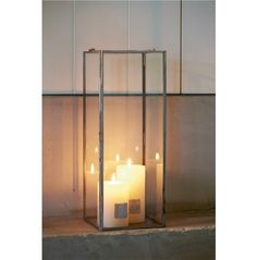 French Glass Lantern 16x16x40 € 29,95 #rivieramaison #home #living #interior #decoration
