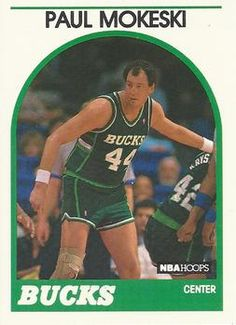 1989-90 Hoops #42 Paul Mokeski Front Usc Basketball, Trading Card Database, Nba Players, Trading Cards, Places, Collector Cards