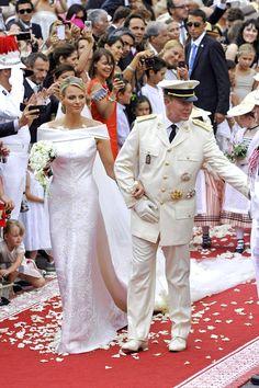 Princess Charlene's wedding dress. Best royal wedding dress and wedding, it was so magical.