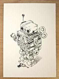 Inklings by T Wei, via Behance
