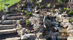 Like: Steps alongside waterflow Like: Stone Dislike: Garden gadgets