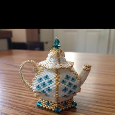 Another in a series of teapots that I made.