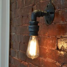 Industrial Style Wall Sconce
