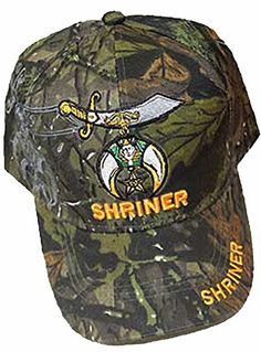 Shriner Baseball Cap Camouflage Shriners Hat Camo Logo Hat Mens Buy Caps and Hats http://www.amazon.com/dp/B00S27RQT6/ref=cm_sw_r_pi_dp_DNqSwb0A2CTZD