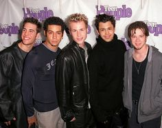 o town band members Ashley Angel, My Favorite Music, My Favorite Things, Secretly Married, Adidas Jacket, Bomber Jacket, O Town, Taylor Hanson, Nick Carter