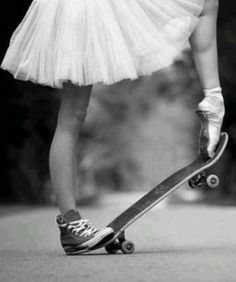 This is sweet proves that a girl can be both a Tom Boy and a lil Dancer
