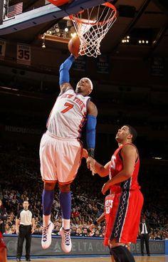 Carmelo Anthony, New York Knicks